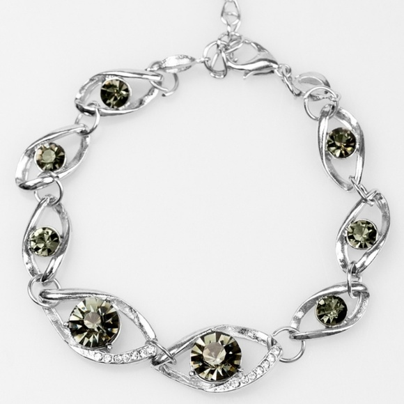faea03c58b33 Bracelet - Rich is Rich Silver Gem. Boutique. Wicked Wonders VIP Bling  Paparazzi